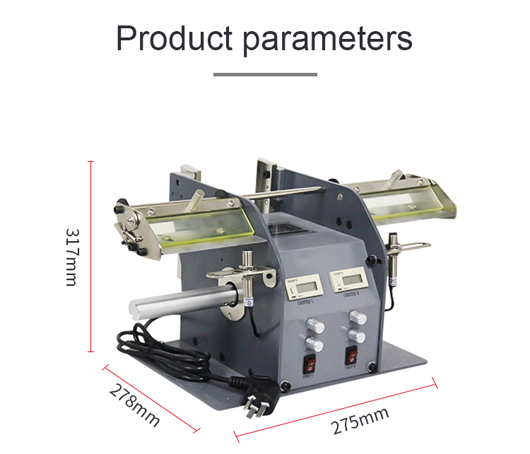 Intelligent automatic labels peeling sticker cutting machine for Themalermal paper separated KS-218C