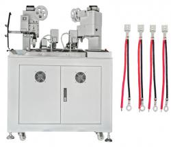 Automatic three-sided two wires crimping machine WPM-038F