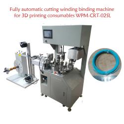 Fully automatic cutting winding binding machine for 3D printing consumables WPM-CRT-02SL
